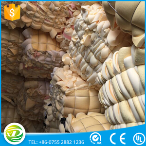 Soft and dry foam scrap in recycled plastic for sale