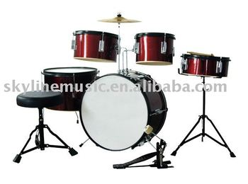 5-pcs junior drum set