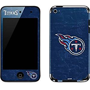 NFL Tennessee Titans iPod Touch (4th Gen) Skin - Tennessee Titans Distressed Vinyl Decal Skin For Your iPod Touch (4th Gen)