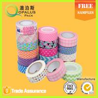 office stationery washi tape printed company logo printing scrapbook craft