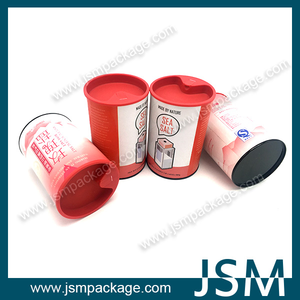 Wholesale Eco-friendly Paper Cardboard Tube can for salt