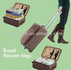 travel hand vacuum space bag with no valve no need of pumps