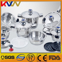 China supplier high quality kitchen wares stainless steel palm restaurant cookware for kitchen utensils