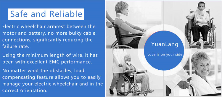 Brushless controller 24V 50A joystick controller for electric wheelchair