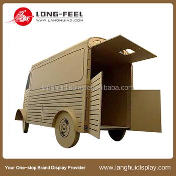 Children Beautiful Diy Cardboard Crafts For Kids 3d Truck Paper Car