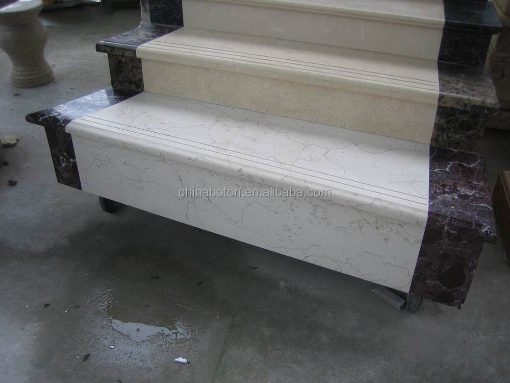 Marble Staircase,customized Indoor Stone Tiles For Stairs