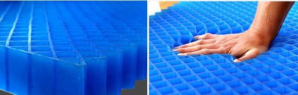 No Pressure Seat Cushion Honeycomb Gel Pad Mattress Topper