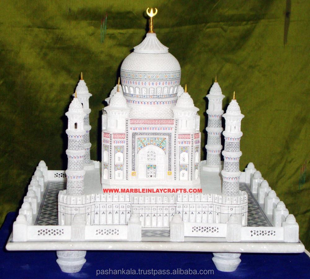Marble Decorative Taj Mahal -- Gift - Home Decoration - Buy Miniature Taj  Mahal,Taj Mahal Gift,Valentines Day Gifts Marble Taj Mahal Product on
