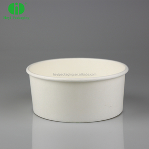 FDA Certificated Ice Cream Cups Paper Bowls With Matching Lids