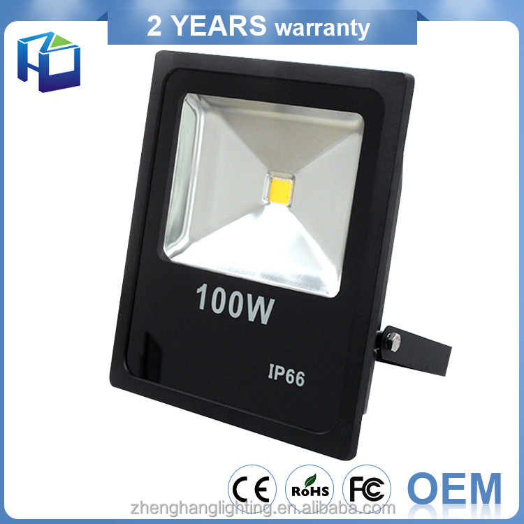 Factory Oem Smd5730 Cob High Die Casting Aluminum Molding Shell 30W 50W 100 Watt Led Flood Light Sensor