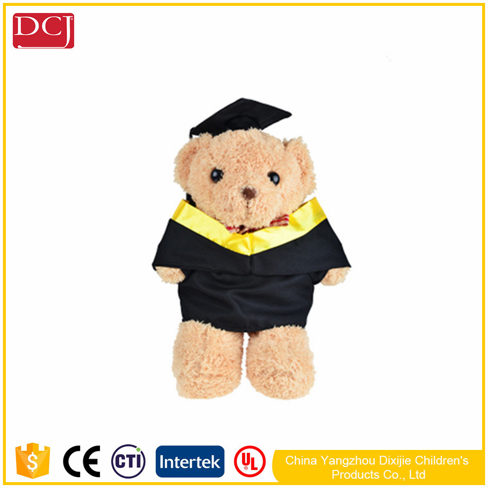 fancy teddy bear Plush Soft Toy Graduation Teddy Bear Doll