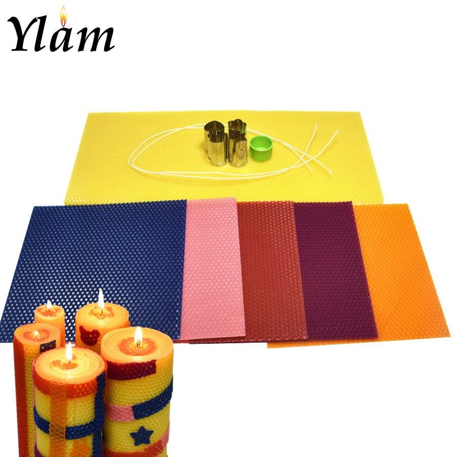 Custom Wholesale Beeswax Diy Children Candles Production Creative Kit  Beeswax Candle Making Rolling Kit - Buy Candle Making Kit,Children