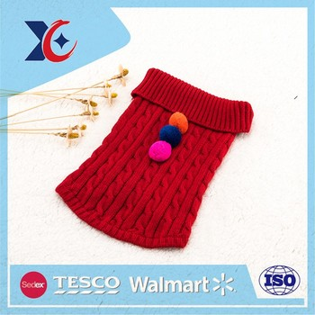cheap price latest warm winter for pets knit dog clothes