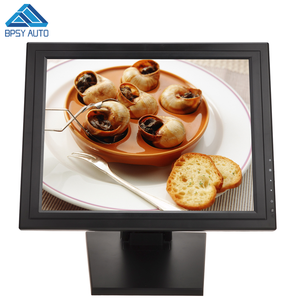 China Manufacture 17 Inch Square 4:3 LCD USB Resistive Touch Screen Monitor