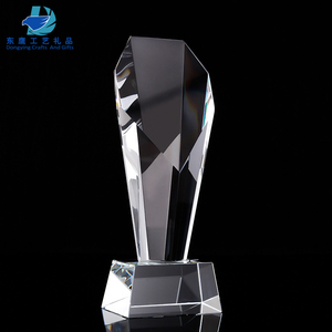 Manufacturer custom military crystal trophies and awards