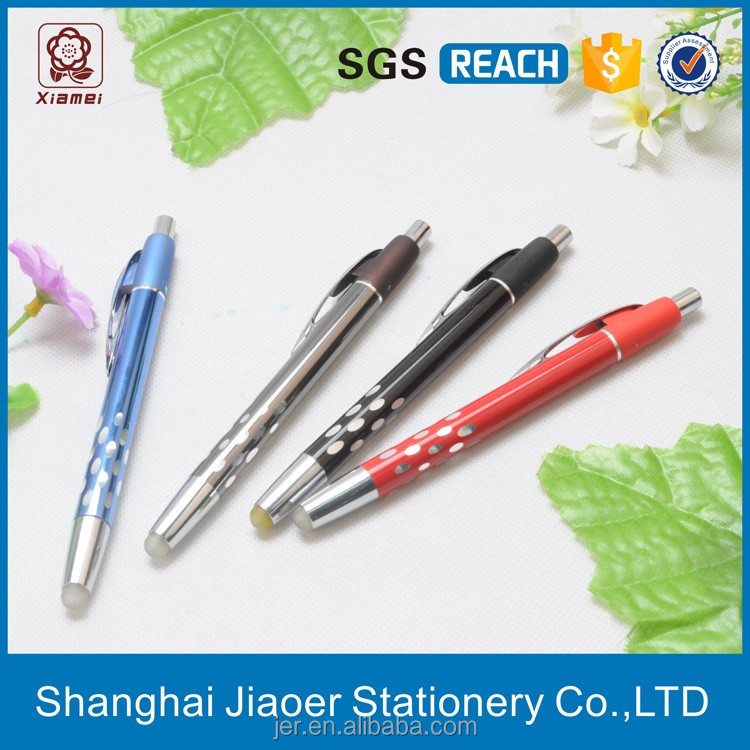 Made-in-china metal twist erasable ball pen slim barrel(X-8818)