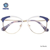 Ready Stock Half Frame Optical Eyeglasses Thin Frame Custom Logo Sunglasses