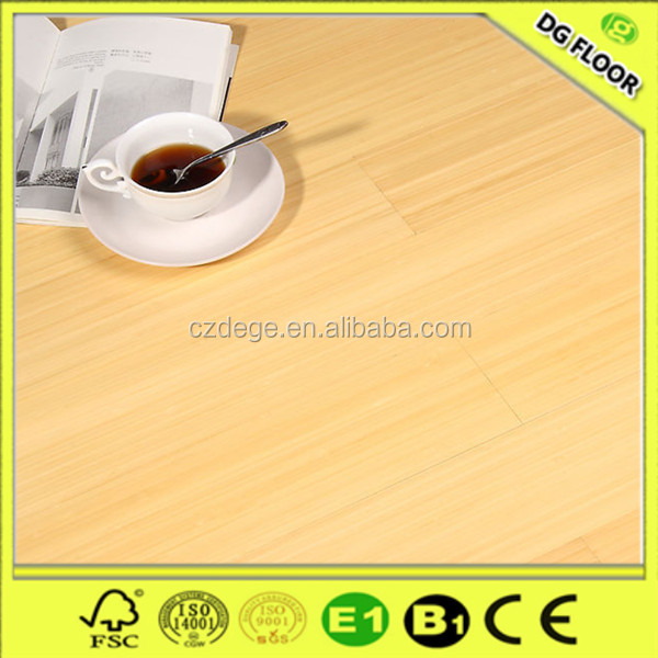 Easy clean quick lock 8mm/12mm hdf compressed bamboo flooring