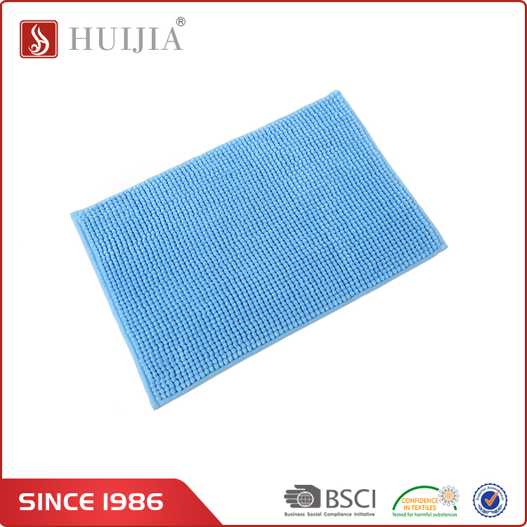 HUIJIA China Manufacturer Top Quality Color Hot Style Polyester Bath Rug for Indoor Floor Mats And Rugs