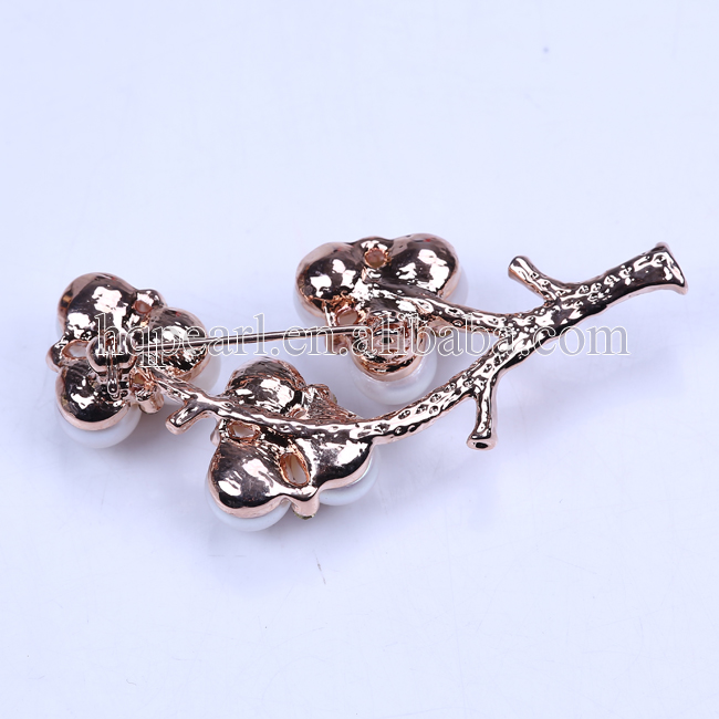 Wholesale bulk brooch pearl sherwani brooch