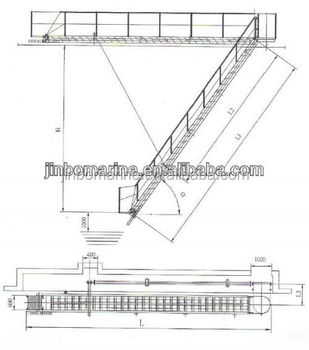 Ship Aluminum Gangway on a schematic circuit, ups battery diagram, simple schematic diagram, ic schematic diagram, a schematic drawing, layout diagram, circuit diagram, template diagram, as is to be diagram,