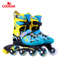Cougar adjustable inline roller skates quad skates soy luna for kids