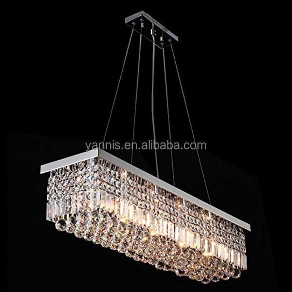 moderna al por mayor de plata acabado iluminacin de la lmpara colgante de luces de la