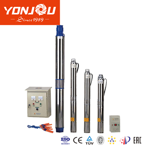 DC AC Single Phase Three Phase Submersible Deep Well Water Pump