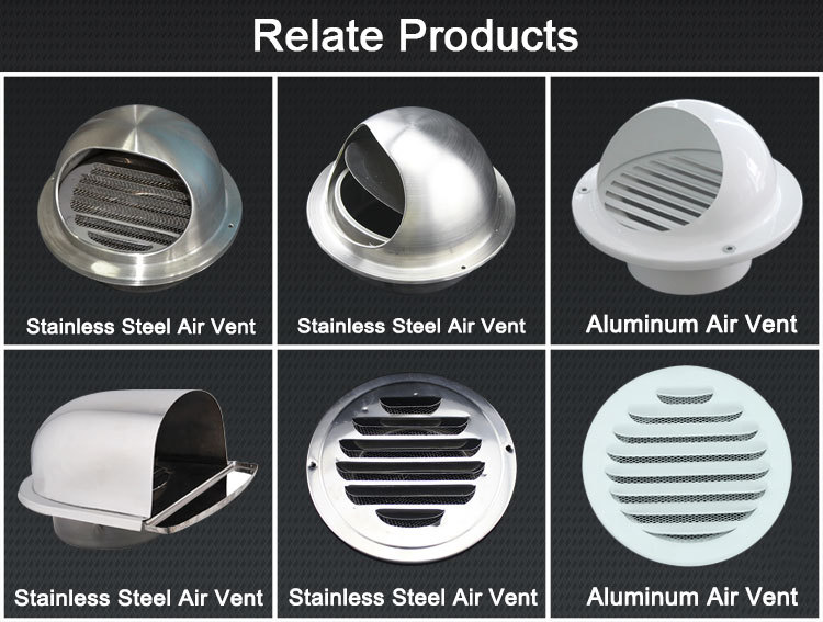 Ventilation Wall Round Aluminum Fresh Air Roof Cowl Buy Roof Cowl Roof Cowl Roof Cowl Product