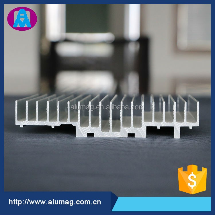 China OEM factory supplier aluminum heat sink bar