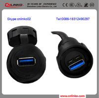 China best supplier IP67 Usb Connector 3.0 For storage electric water heater