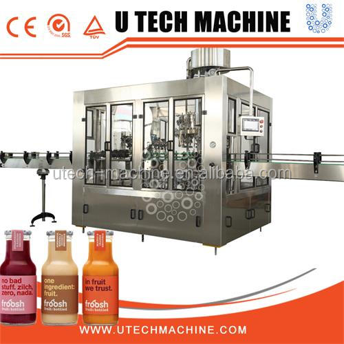 Automatic Screw Feeding Type Liquor Filling Machine for Glass Bottle with alumium or plastic Cap