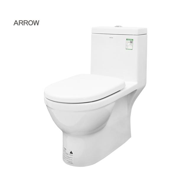 तीर ब्रांड थोक मूल्य सेनेटरी माल धोने नीचे एक टुकड़ा बाथरूम चीनी मिट्टी चीनी wc शौचालय