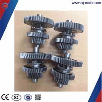 4 bolts differential straight bevel gear for electric tricycle/rickshaw