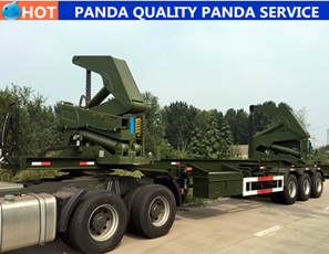 Panda 2 Axle 20ft Container Skeleton Trailer
