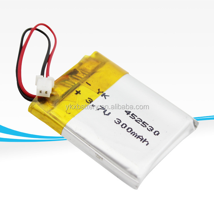 High Temperature Lithium Ion Lipo Li-ion Li Polymer Rechargeable Battery  452530 3 7v 300mah - Buy Li-polymer Rechargeable Battery 452530 3 7v
