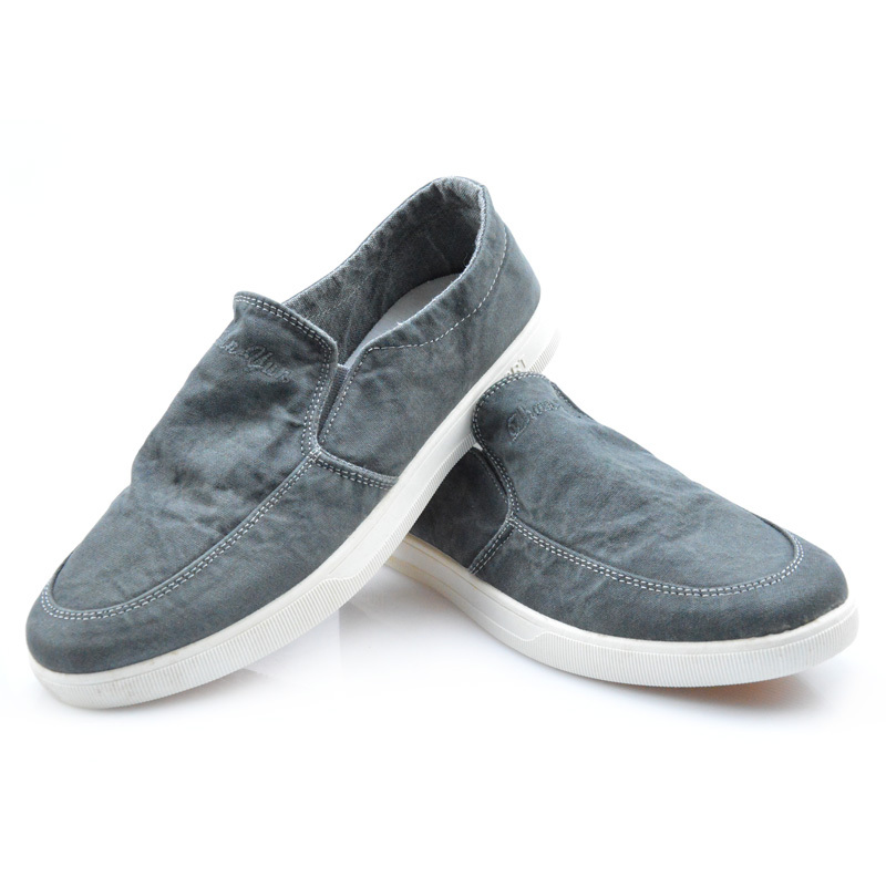 The New mens canvas Flat with canvas mens shoes Rubber soles Breathable 2015 Spring and Autumn Fashion casual Lazy canvas shoes