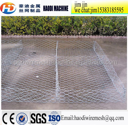 Hot Sale Cheap High Quality 4m*1m*1m Heavy Duty Gabion Box For Retaining Wall(80*100mm/ Out: 3.0mm/ In: 2.5mm)