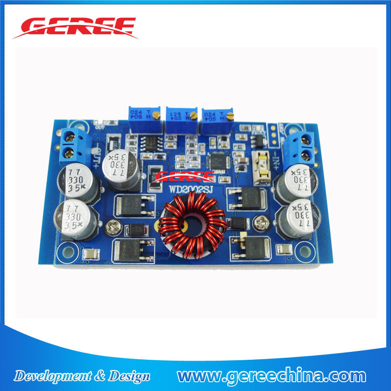 Geree LTC3780 DC-DC CC CV Auto Step Up step Down Buck Boost Converter 5-32V to 1-30V 10A solar battery charger