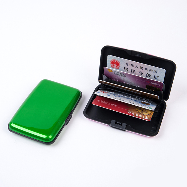 Interwell Bxk06 Credit Card Protection Wallet,Metal Card Holder ...