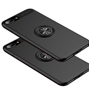 New Product Ideas 2018 TPU Mobile Case Covers For iphone 7plus 8plus With Magnetic 360degree Invisible Ring Holder