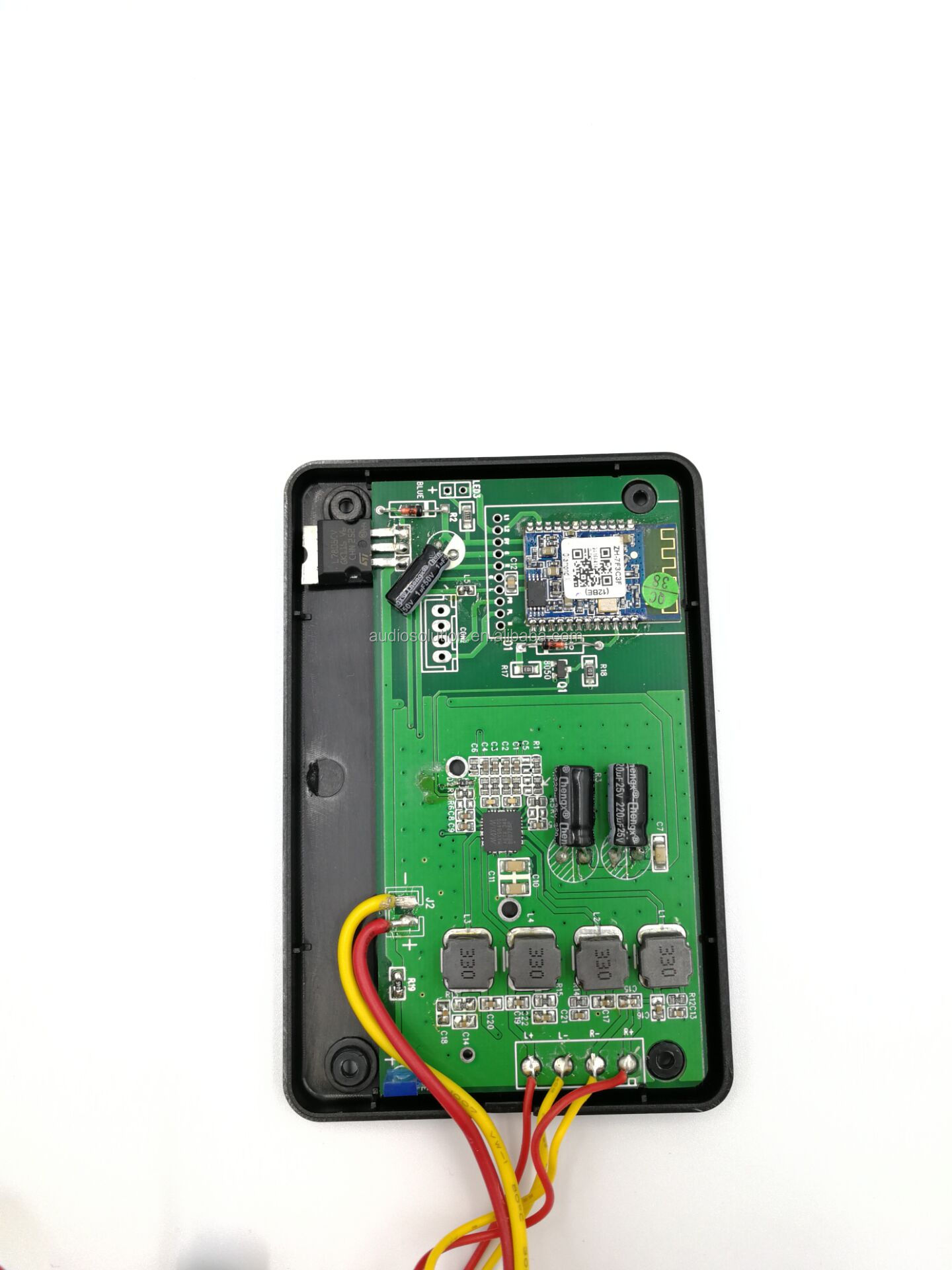 5V bluetooth rechargeable system with exciter for furniture cabinet