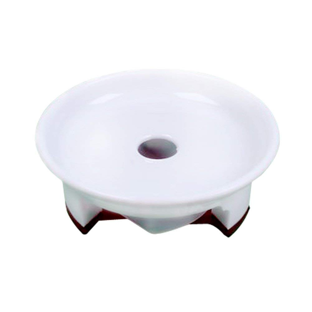 coisound 1688 Round Clear Plastic Plants Pot Saucer Trays,for holding Soil and Water Drips-10 Pack of 8.0,Excellent For Indoor /& Outdoor Plants. 10, 8in