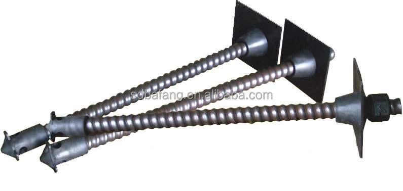 Underground Mining Coal Prestressed Hollow Grouting Anchor Bolts