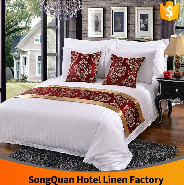 High Quality Bed Linen Fabric,hotel Collection 300 Thread Count King Bed  Flat Sheet,