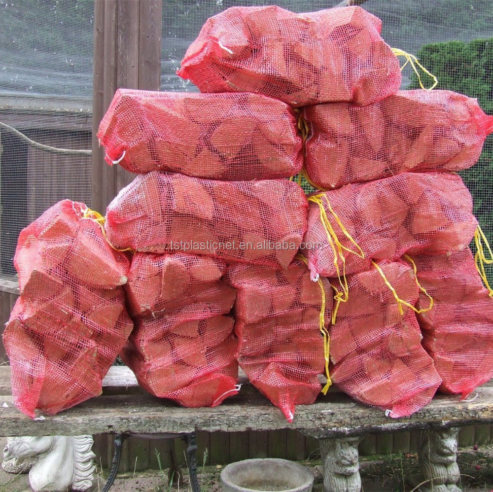 the cheapest free delivery new concept Kindling Wood Log Net Sacks Mesh Bags In Orange Or Green - Buy Kindling  Wood Log Net Sacks Mesh Bags,Log Net Sacks,Plastic Bags For Firewood  Product ...