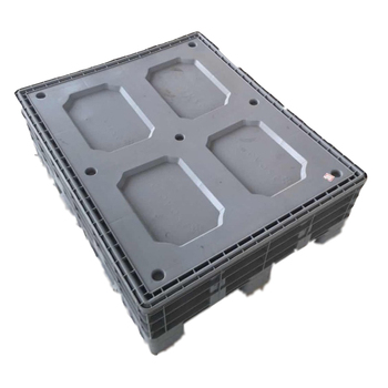 Plastic pallet box wholesale, battery plastic pallet box with lids