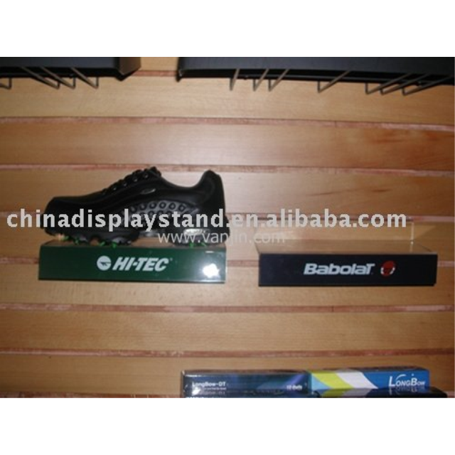 slat wall shoe display/shoe rack/shoe display stand