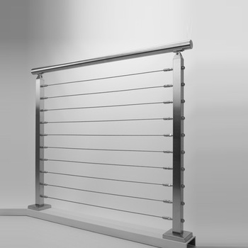Modern Handrail Square Pipe Balcony Stainless Steel ...