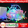 CE ROHS approved IP44~65 outdoor christmas street light decoration 9 color programmable led cluster christmas lights